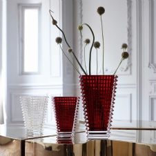 Baccarat Eye Rectangular Vase 300 - Available in a variety of colours